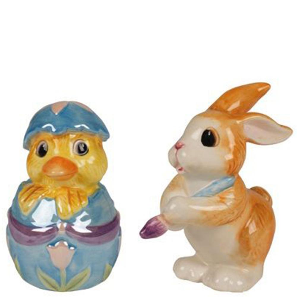 Набор для специй Fitz and Floyd Утенок и Кролик