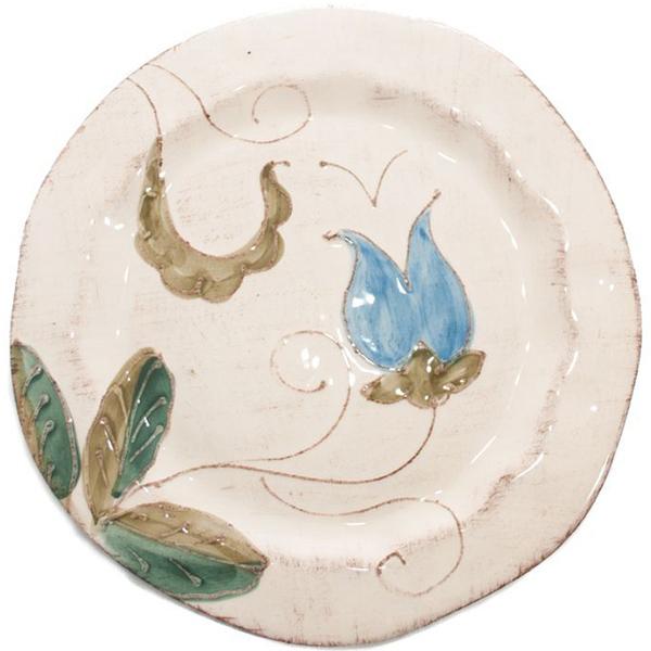 Десертная тарелка Bizzirri Portofino с ручной росписью
