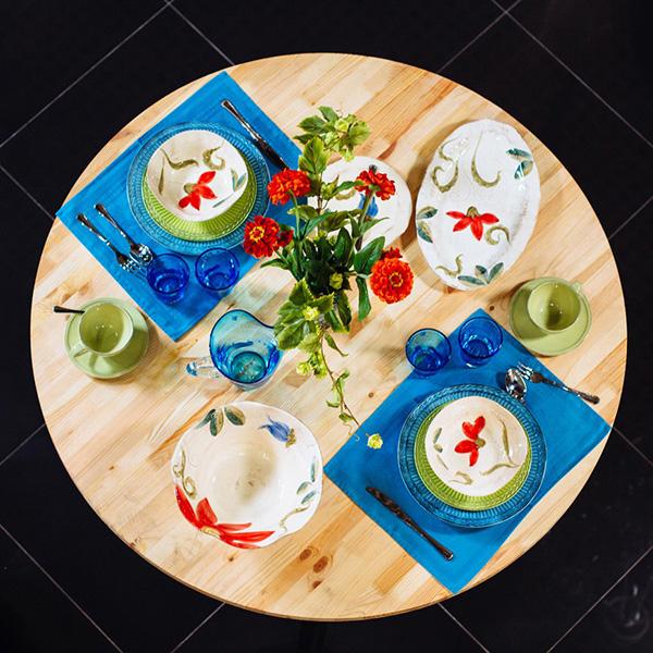Блюдо для рыбы овальное Bizzirri Portofino