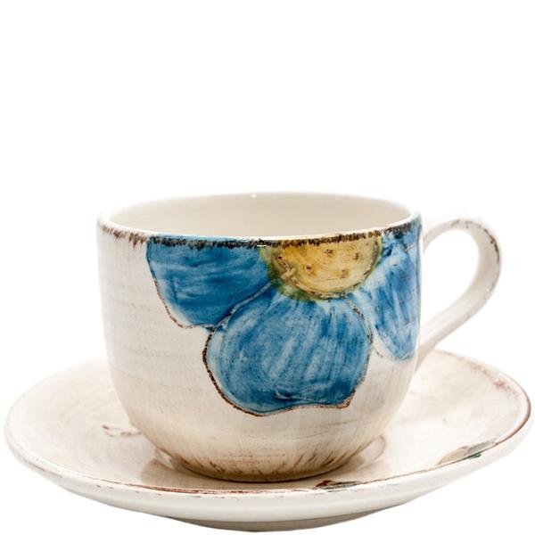 Чайная чашка с блюдцем Bizzirri Portofino