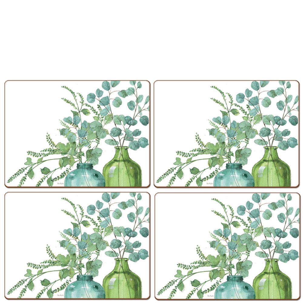 Набор ковриков для сервировки Cala Home Greenery II 4шт