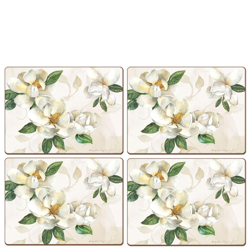Сервировочные коврики Cala Home Magnolia 4шт