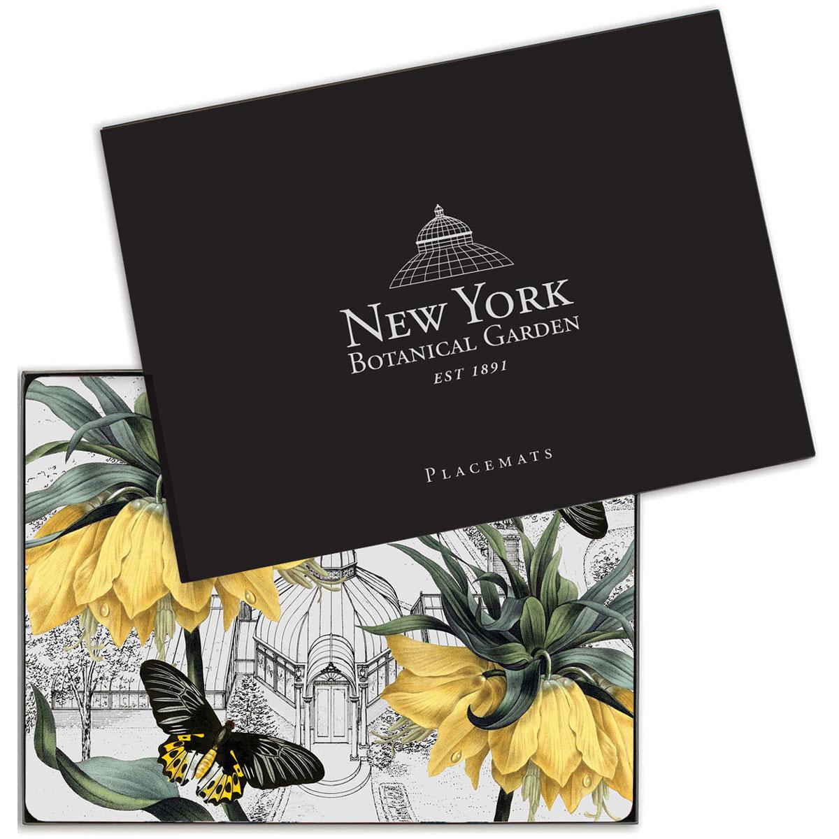 Коврики для сервировки New York Botanical Garden Conservatory 4шт