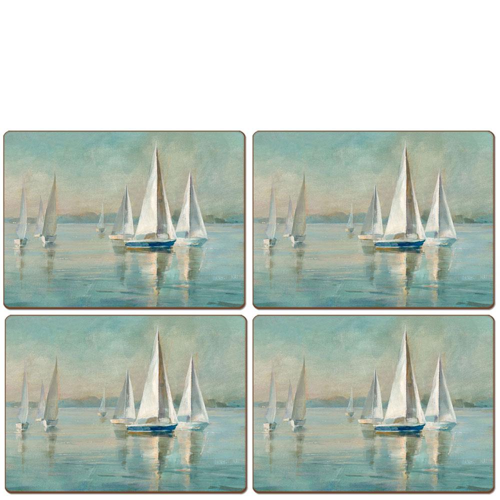 Сервировочный набор Cala Home Sailing at Sunrise 4шт