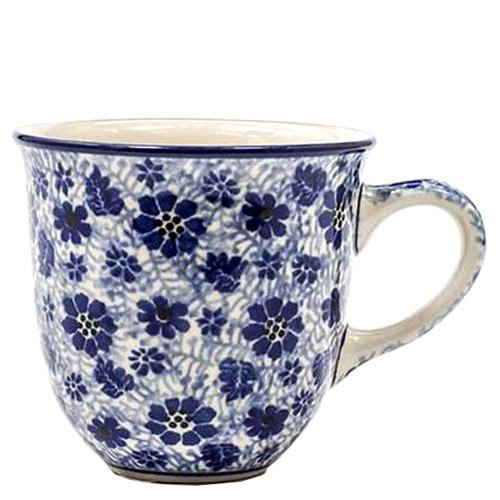 Кружка Ceramika Artystyczna с цветами