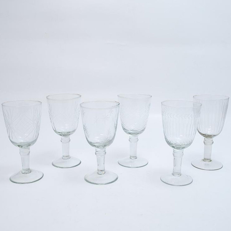 Набор бокалов для вина HOFF Interieur 6шт