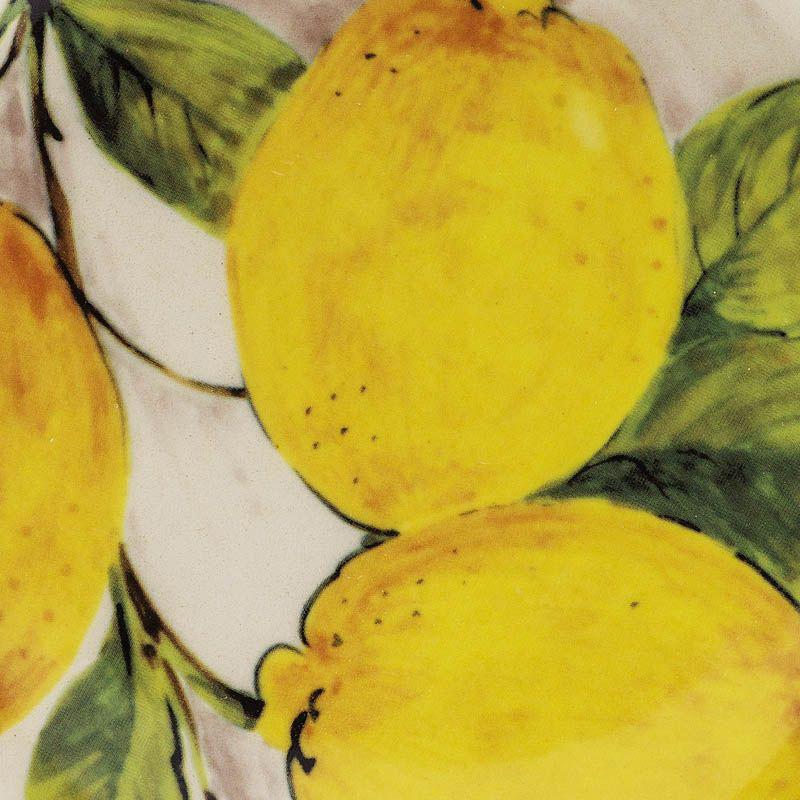 Десертная тарелка Bizzirri Лимоны