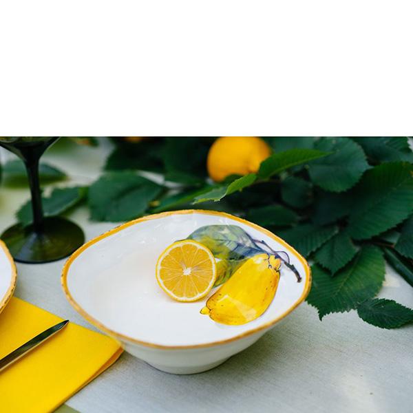 Тарелка для супа Bizzirri Лимоны