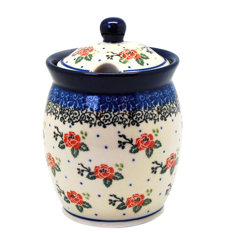 Емкость для меда Ceramika Artystyczna Чайная роза