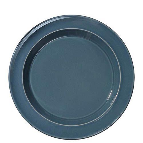 Тарелка десертная Emile Henry Natural Chic Bleu Pavot 21 см
