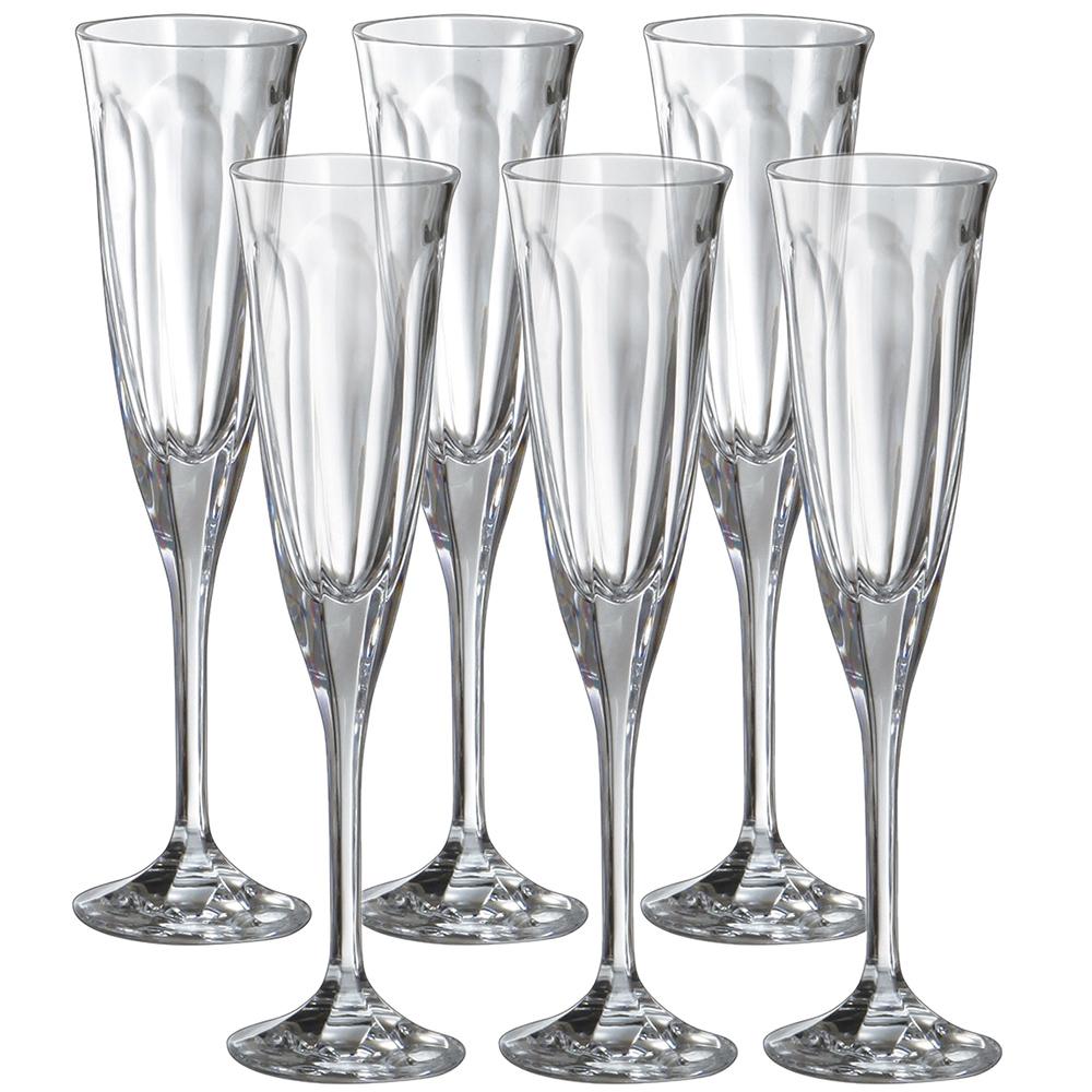 Набор бокалов для шампанского FMF Bohemia Windsor 6шт