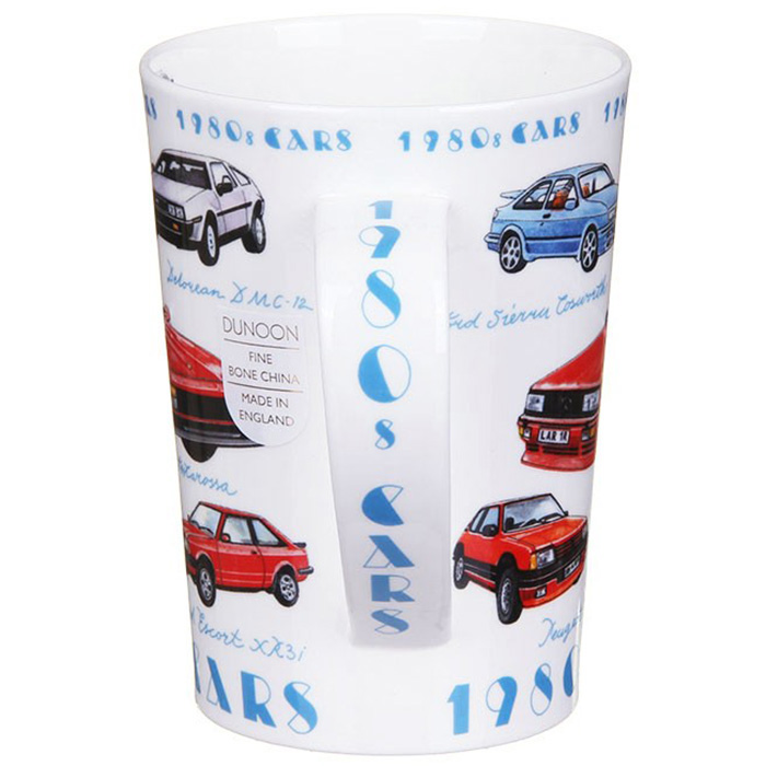 Чашка Dunoon Argyl Classic cars 1980