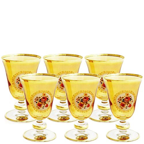Набор из 6 бокалов для белого вина Art Decor Sofia Букет