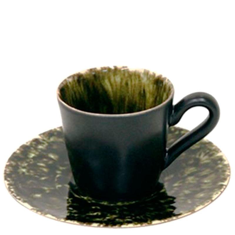 Кофейная чашка с блюдцем Costa Nova Riviera