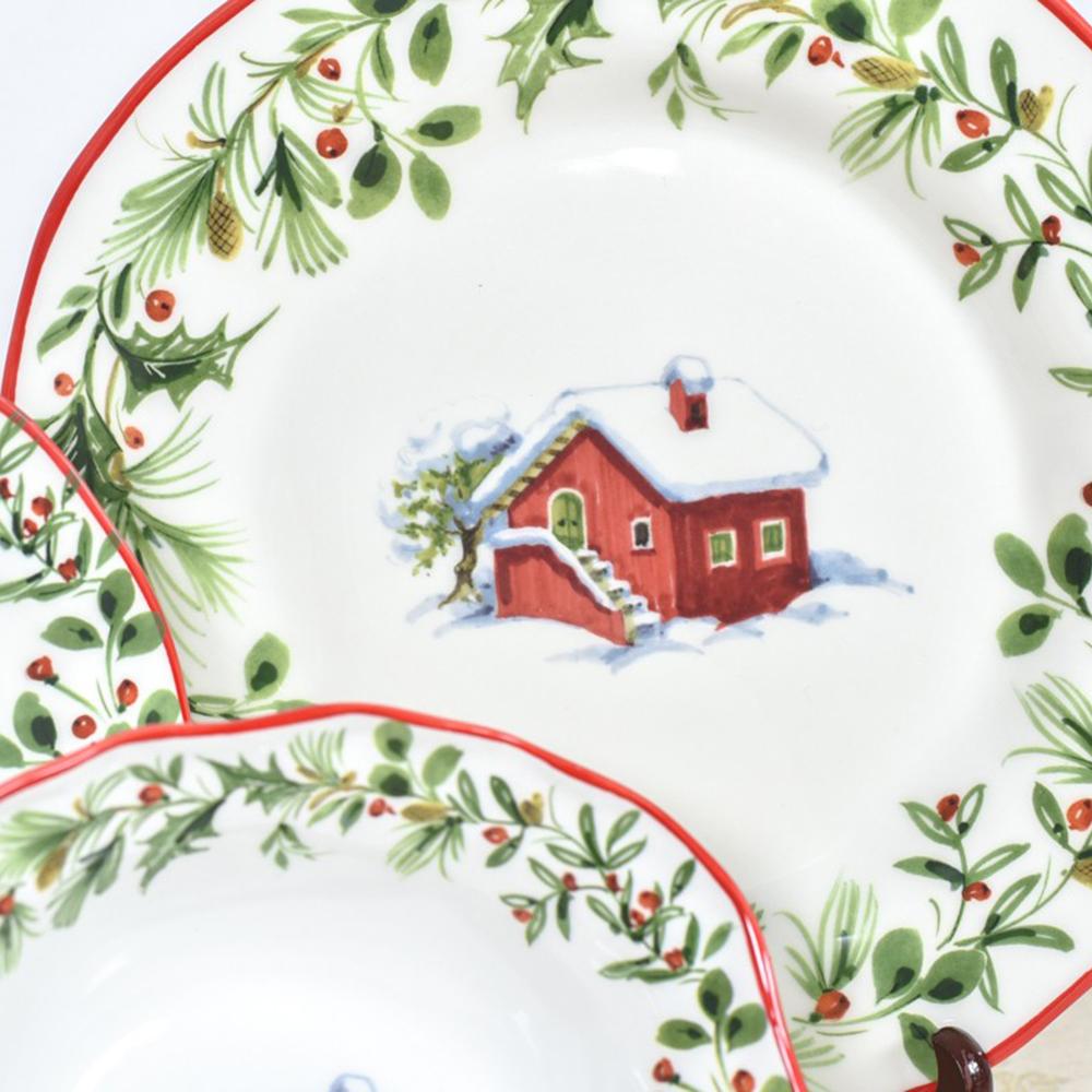 Тарелка обеденная Villa Grazia Лесная сказка 30см