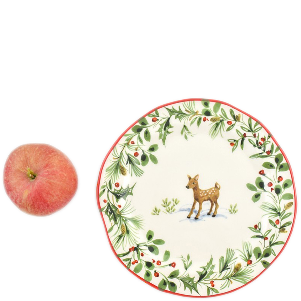 Набор тарелок для салата Villa Grazia Лесная сказка на 6 персон