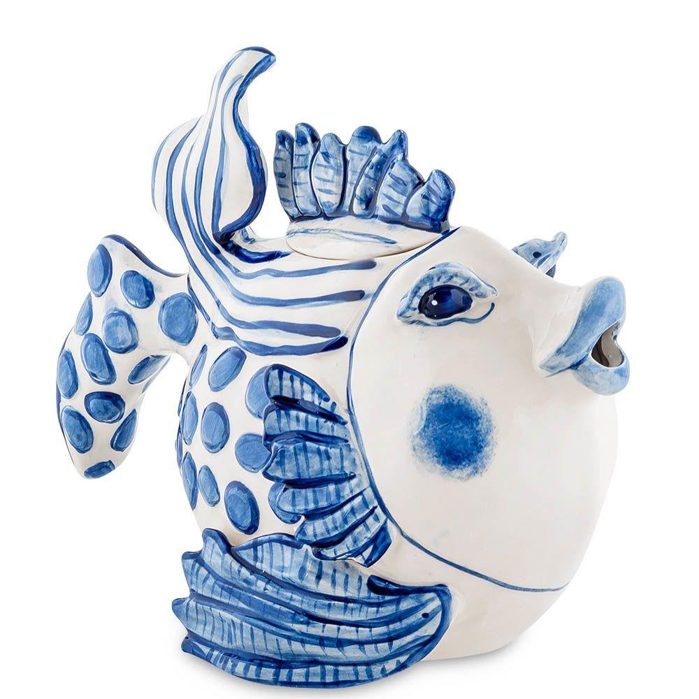Заварочный чайник Pavone Рыба