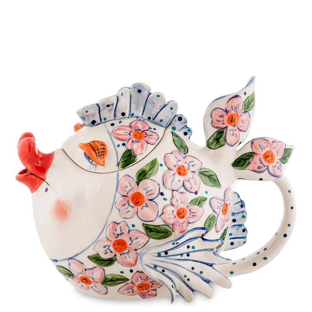 Заварочный чайник Pavone Рыба Азалия