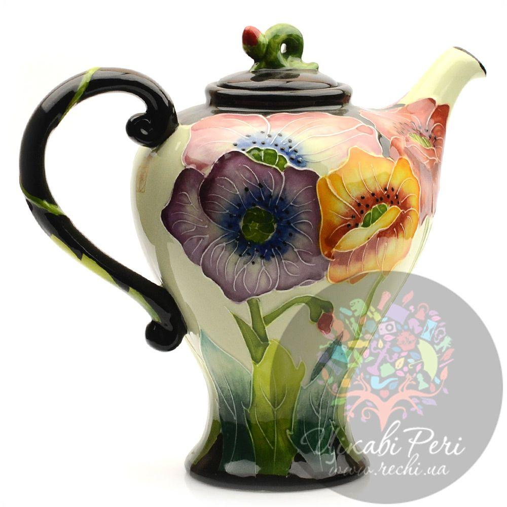 Заварочный чайник Blue sky «Маки»