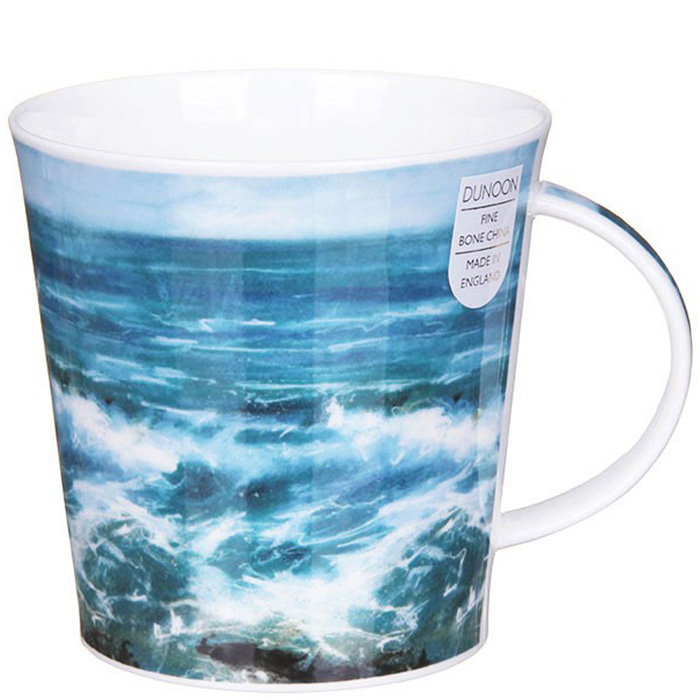 Чашка Dunoon Cairngorm Breaking Waves Turquoise 0,48 л