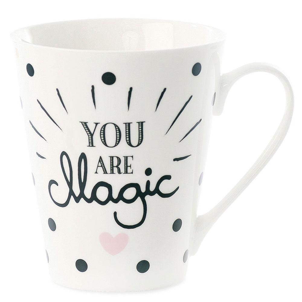 Кружка Miss Etoile You are magic с черными точками