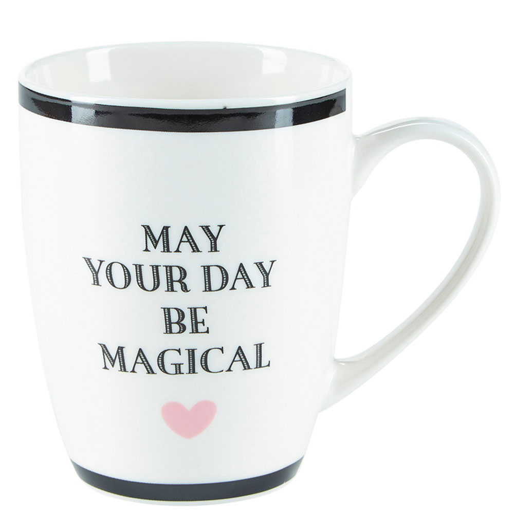 Белая кружка Miss Etoile May your day be magical