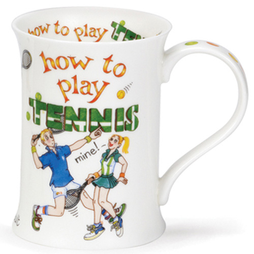 Чашка Dunoon Cotswold How to tennis 0,33 л