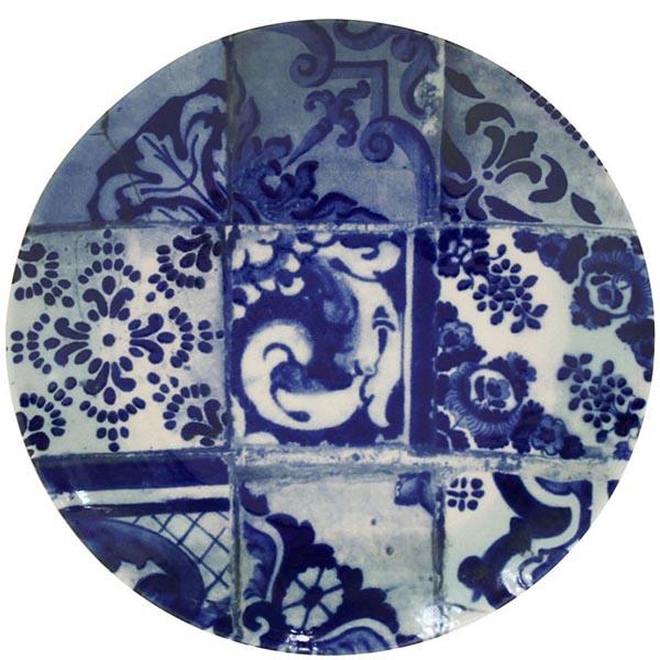 Блюдо Costa Nova Lisboa 30см синее