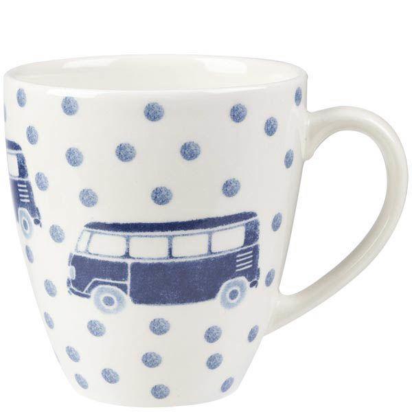 Чашка Churchill Sieni объемом 0.5 л с рисунком автобусов