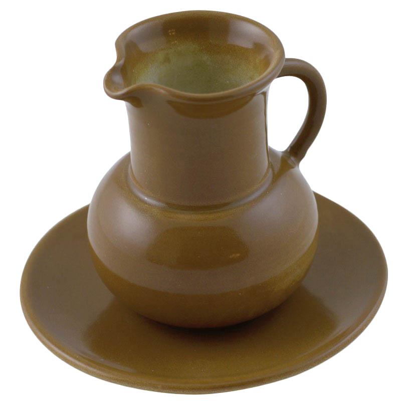 Керамический молочник L'Antica Deruta коричневого цвета