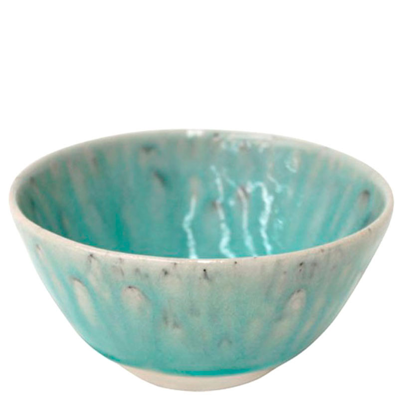 Большая пиала Costa Nova Madeira из голубой глянцевой керамики