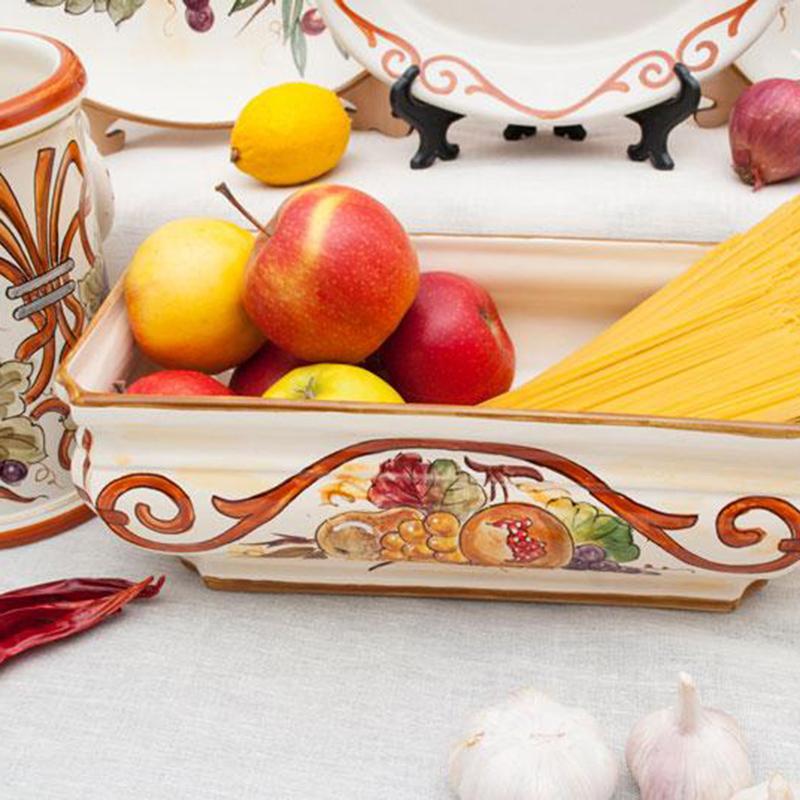 Блюдо L'Antica Deruta Frutta Di Campo