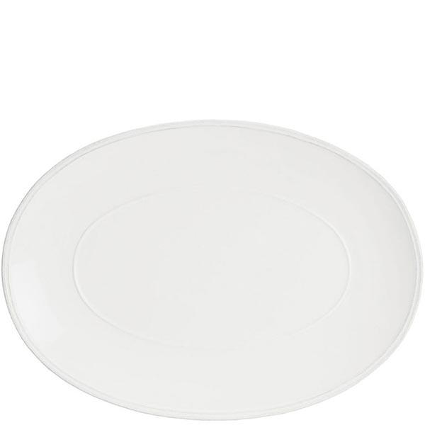 Блюдо овальное Costa Nova Friso 41х29.6см белое