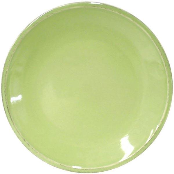 Набор из 6 тарелок для салата Costa Nova Friso зеленого цвета 22см