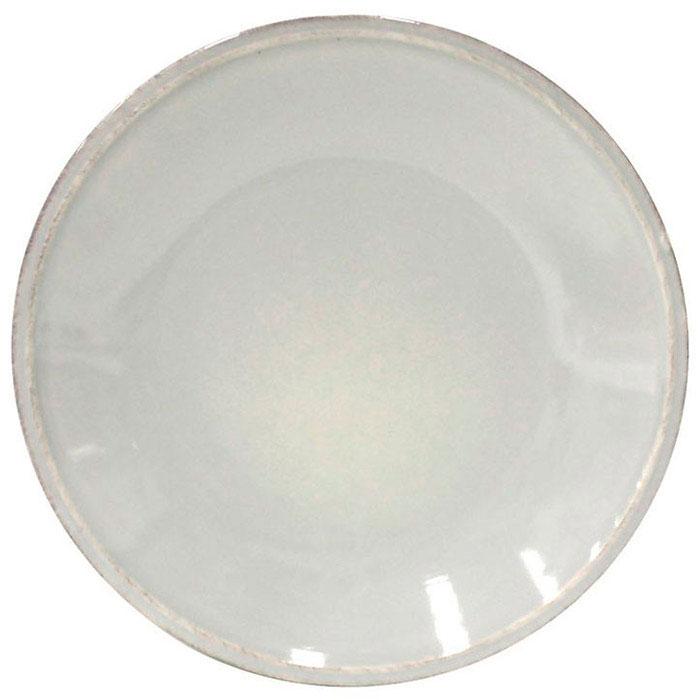 Мелкая тарелка Costa Nova Friso из серой керамики