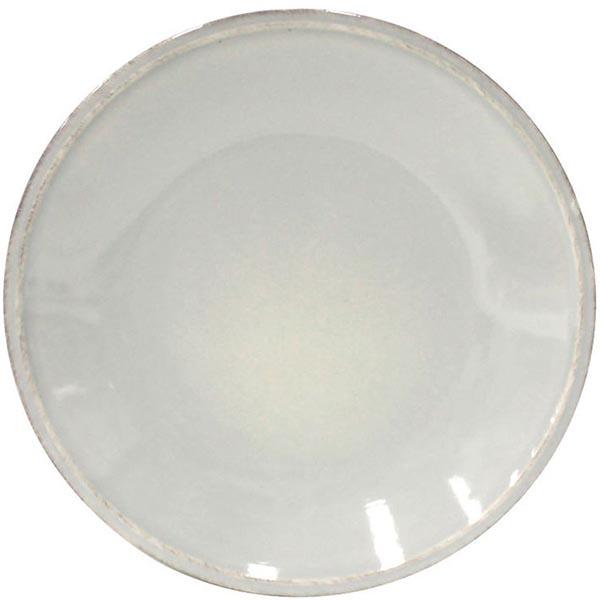 Набор из 6 тарелок для салата Costa Nova Friso серого цвета 22см