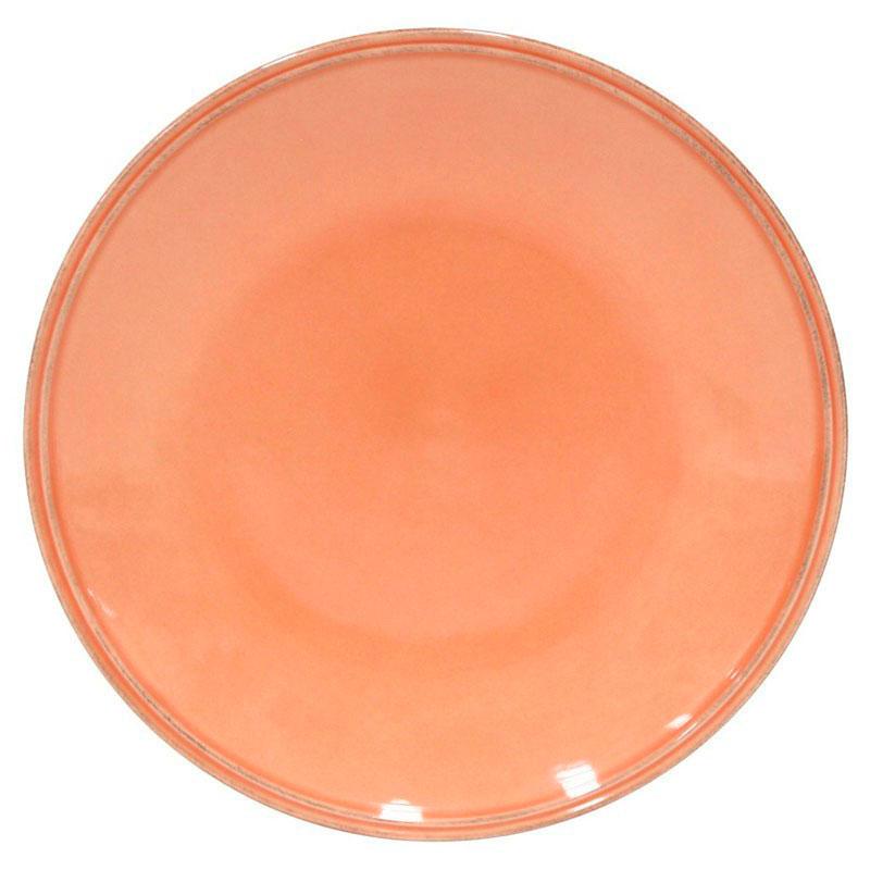 Обеденная тарелка Costa Nova Friso оранжевого цвета