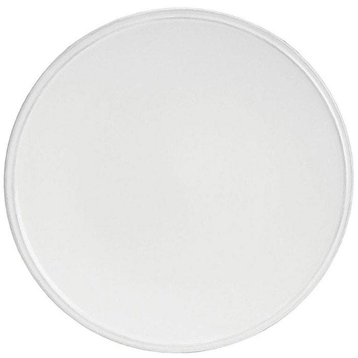 Обеденная тарелка Costa Nova Friso из белой керамики