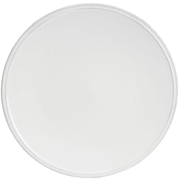 Набор из 6 тарелок Costa Nova Friso белого цвета 28см