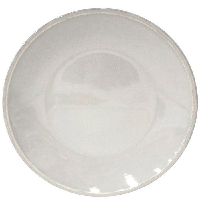 Серая обеденная тарелка Costa Nova Friso из керамики