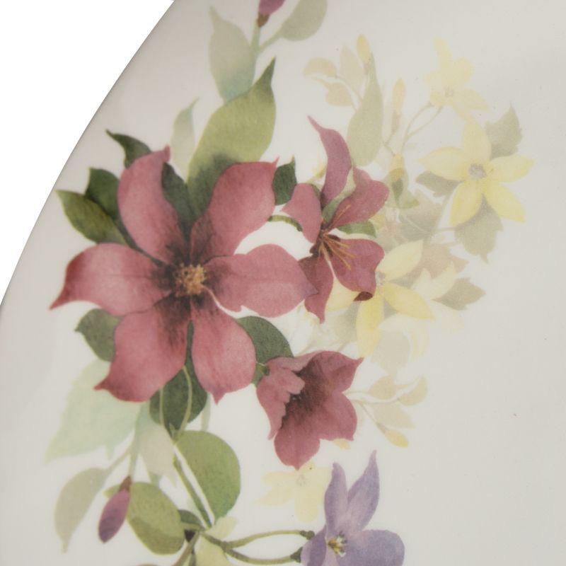 Тарелка обеденная Ceramica Cuore Цветочное настроение