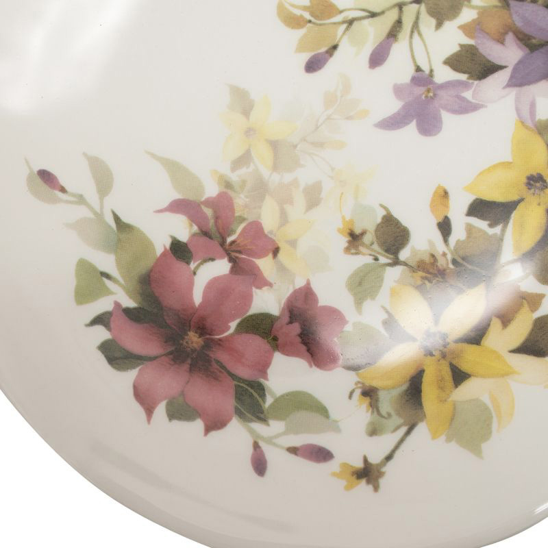 Тарелка Ceramica Cuore Цветочное настроение