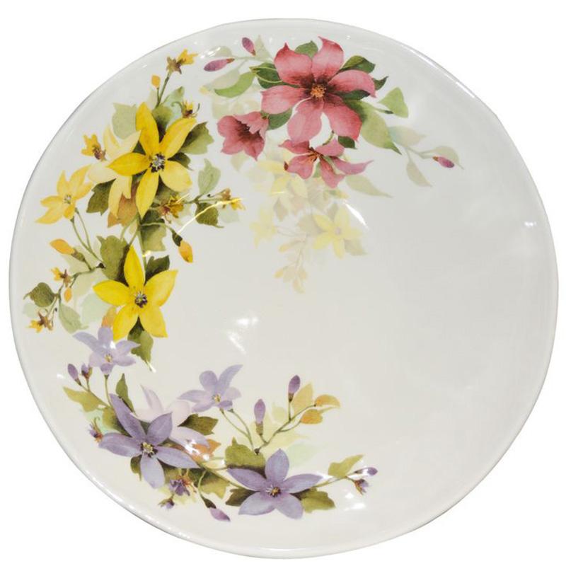 Салатник Ceramica Cuore Цветочное настроение