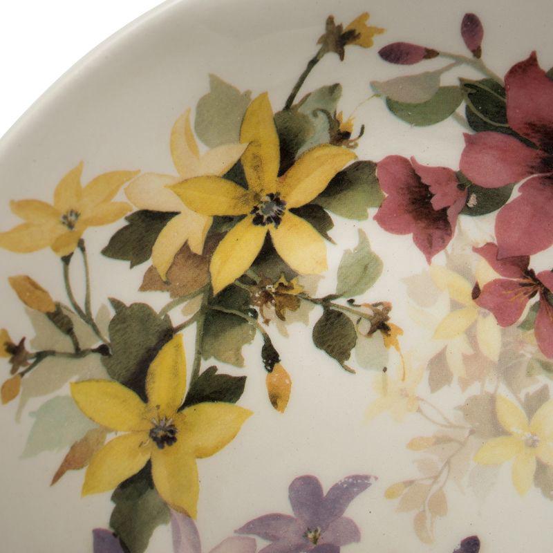 Тарелка для супа Ceramica Cuore Цветочное настроение
