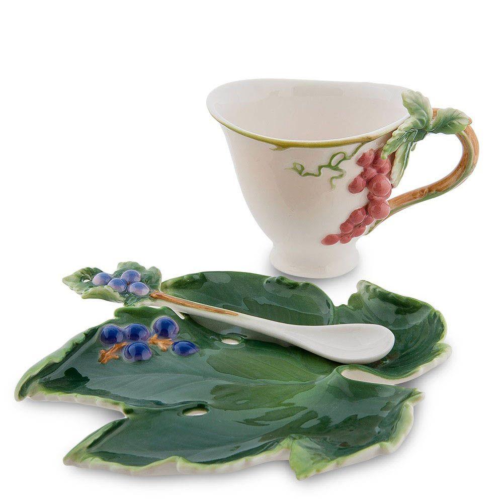 Чайная пара Pavone Гроздь винограда