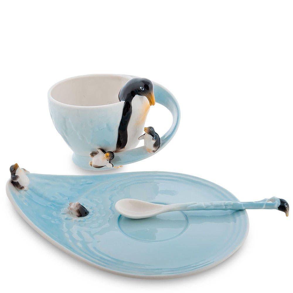 Чайная пара Pavone Пингвины