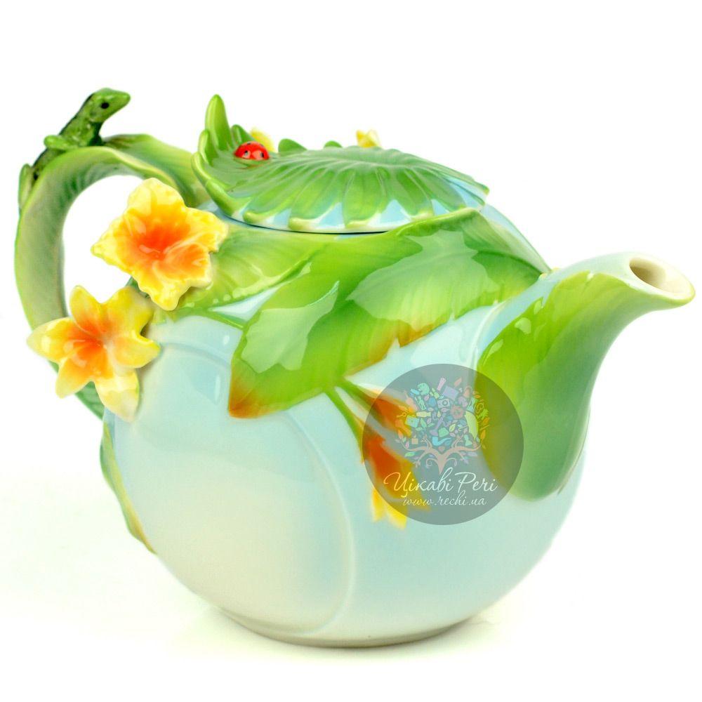 Заварочный чайник Тропики Pavone