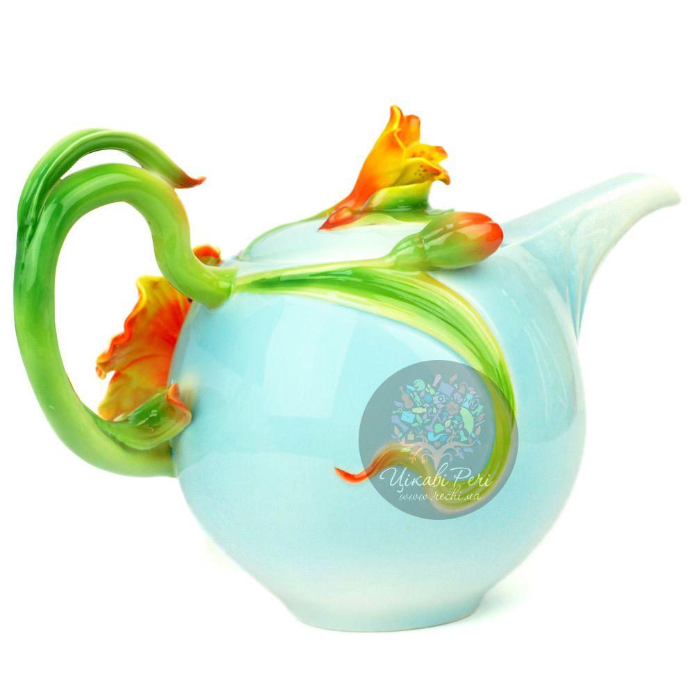 Заварочный чайник Лилии Pavone