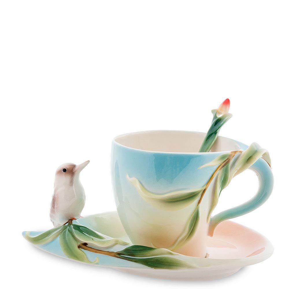Чайная пара Pavone Зимородок Кукабара