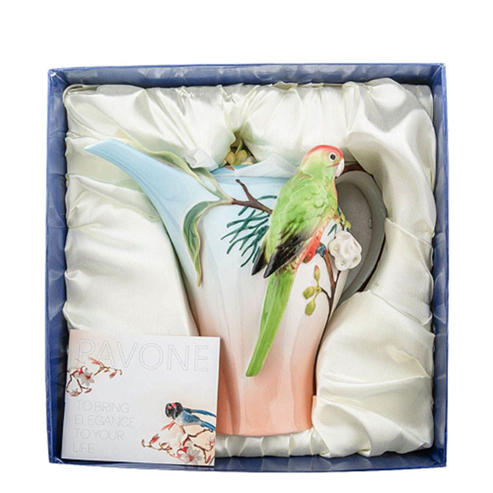 Заварочный чайник Pavone Попугай Розелла